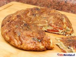 Tortilla de Champiñones y Longaniza
